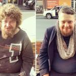 Hajléktalanoknak vágja le a haját az utca fodrásza