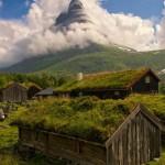 Mesebeli épületek Norvégiából