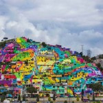 Szivárványszínűre festetették egy mexikói település házait