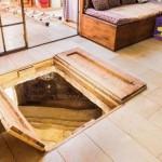 Kétezer éves rituális fürdőt fedeztek fel egy ház nappalija alatt