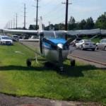 Forgalmas autópályán hajtott végre kényszerleszállást egy kisrepülő