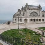Elhagyatott kaszinóépület a romániai Konstancában