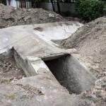 Photo: Világháborús betonbunkert találtak egy csepeli óvoda udvarán
