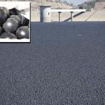 96 millió fekete labdát eresztettek egy Los Angeles-i víztározóba
