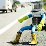 Szétverték a világutazó, stoppoló robotot
