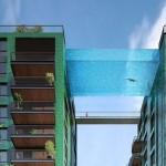 Úszómedence fog összekötni két londoni toronyházat