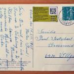 50 éves késéssel kézbesítettek egy karácsonyi üdvözlőlapot Svájcban