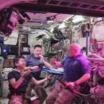Először ettek űrben termesztett zöldséget a Nemzetközi Űrállomás űrhajósai