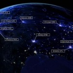 Látványos videó Amerika egynapi légi forgalomáról