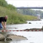 Elsüllyedt bőgőshajók maradványaira bukkantak a Tiszában
