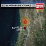 8,3-as erősségű földrengés rázta meg Chilét, cunamiriadót rendeltek el