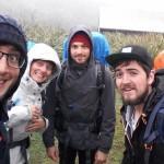 Photo: Leszakadt egy függőhíd négy turista alatt [videó]