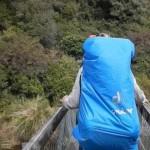Leszakadt egy függőhíd négy turista alatt [videó]