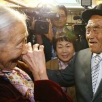 65 éve szétválasztott családtagok találkozhattak újra Észak-Koreában
