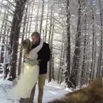 Különleges esküvői videó – a kutya örökítette meg a nagy napot