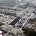 Photo: Így cserélnek ki 43 óra alatt egy felüljárót Kínában