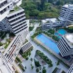 Szingapúr futurisztikus épületkomplexuma lett az év épülete