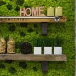 Függőleges kertek és élő dekorációk a belső terekben