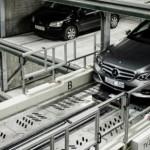 Automatizált parkoló, amely 1000 gépkocsit is képes befogadni