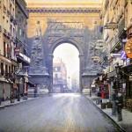 Ritka színes fotókon a száz évvel ezelőtti Párizs