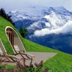 Hangulatos hobbitházak, melyek néhány nap alatt felépíthetőek