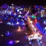 Kétmillió izzóval öltöztette karácsonyi fénybe birtokát egy horvát család