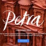 Virtuális séta a jordániai Petra lenyűgöző romvárosában