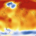 A globális felmelegedés mértéke a NASA friss animációján