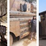 """Házi készítésű páncélozott """"tankok"""" és járművek a Közel-Keleten és Afrikában"""