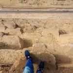 Photo: Életre szóló kitiltást kapott Egyiptomból az a német férfi aki felmászott a gízai nagy piramisra