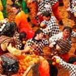 Különös ünnep – megkezdődött a narancsháború az olaszországi Ivreában