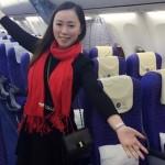 Egyedül utazott a repülőn egy kínai nő, míg a vasútállomáson 100 ezren zsúfolódtak össze
