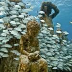 A tenger mélyén nyílik szoborpark a Kanári-szigeteknél