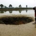 25 tonna hal tűnt el egy éjszaka alatt egy víznyelőben