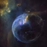 Lélegzetelállító felvételt készített a Hubble a lenyűgöző Buborék-ködről