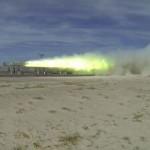 Rekordot döntött az amerikai hadsereg kísérleti mágnesvasútja