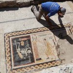 Az élet szeretetére buzdít egy Törökországban feltárt 2300 éves mozaik