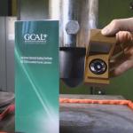 Gyémánt a hidraulikus prés alatt [videó]