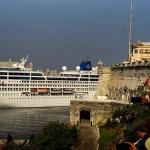Évtizedek óta először érkezett amerikai óceánjáró Kubába