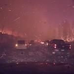Ilyen lehet a pokolban autózni – menekülés az albertai erdőtűz elől [videó]