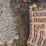 Dél-Afrikai kontraszt – megdöbbentő felvételek a gazdagokat és szegényeket elválasztó határvonalakról
