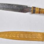 Meteoritból készült Tutanhamon tőre