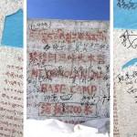 Feketelistára kerülnek a Mount Everest alaptáboránál graffitiző turisták