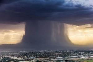 Elképesztő természeti jelenséget fotóztak Phoenix felett