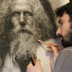 Több száz órát szentel alkotásai elkészítésére a tehetséges hiperrealista művész