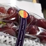 Több mint 3 millió forintért kelt el egy fürt szőlő Japánban