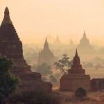 Közel kétszáz buddhista templomot rongált meg a földrengés a festői szépségű Baganban
