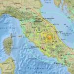 Súlyos károkat okozott és halálos áldozatokat követelt az olaszországi földrengés