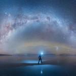 Így fest a világ legnagyobb sómezője éjjel – lélegzetelállító fotók