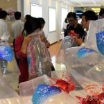 Zacskós levegőt árulnak egy kínai bevásárlóközpontban